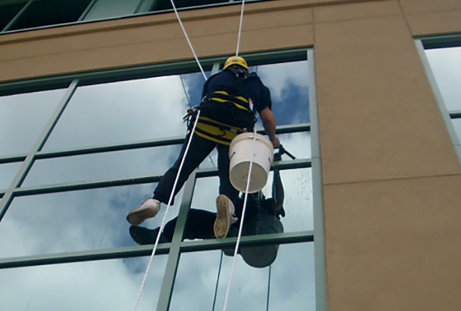 Low mid and high rise window cleaning in Calgary - Bristol Window Cleaning