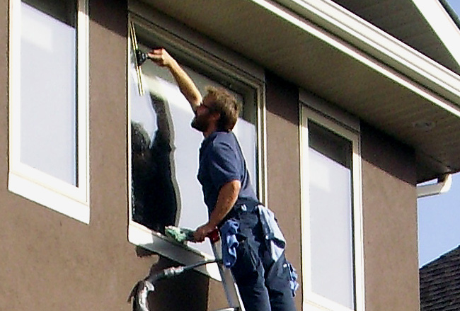 Residential window cleaning in Calgary - Bristol Window Cleaning
